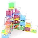 Clerfy Acc Lote 24 Juegos De Habilidad - Juegos de Habilidad para niños, Adultos, Infantiles, Ideales para colegios y guarderías. (Colorful)