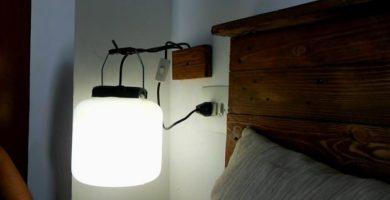 cómo hacer una lámpara casera