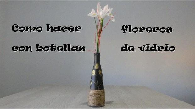 cómo hacer un florero
