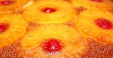 cómo hacer un pastel de piña