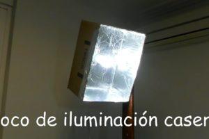 Foco De Iluminación Casero