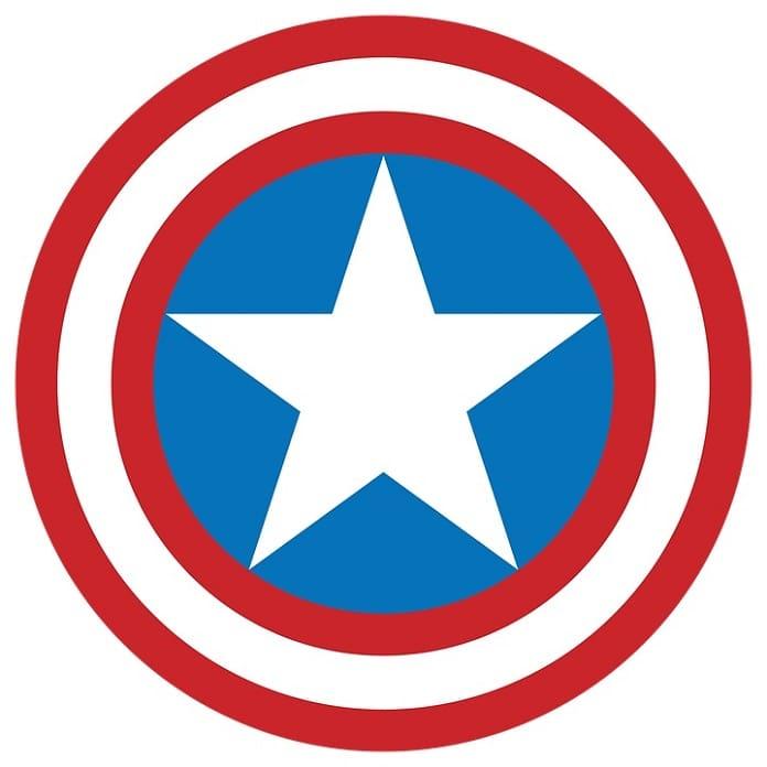 cómo hacer el escudo de capitan américa