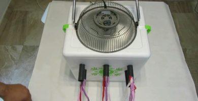 hacer un aire acondicionado casero grande