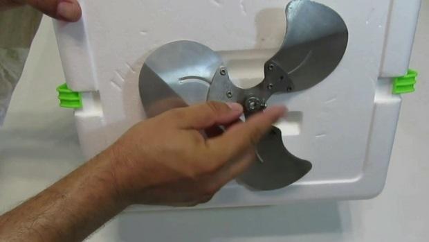 aire acondicionado casero con ventilador
