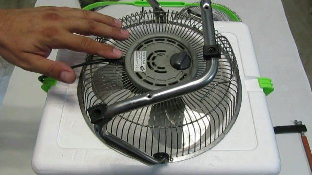 proyecto de aire acondicionado casero