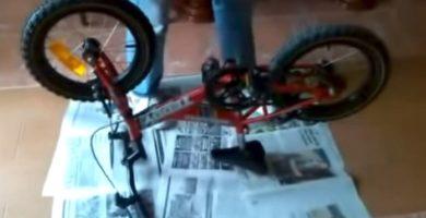 Cómo Hacer Una Puesta A Punto A Bicicleta De Niño