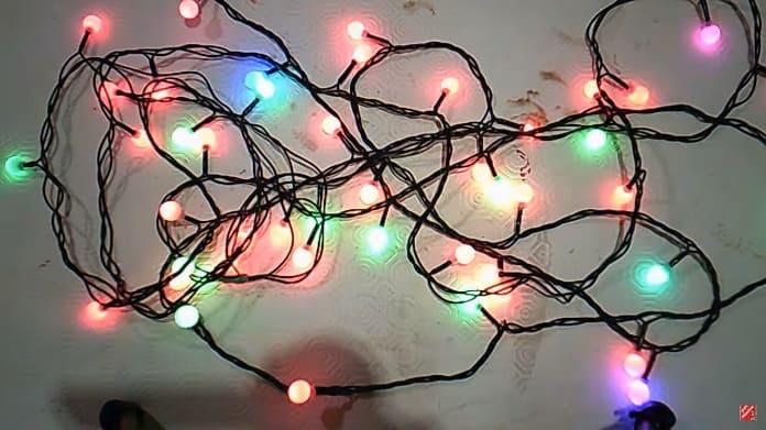 arreglar luces de navidad de led