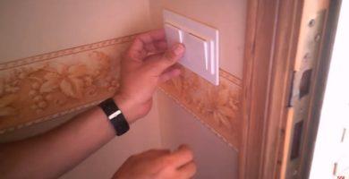 cambiar conmutador interruptor