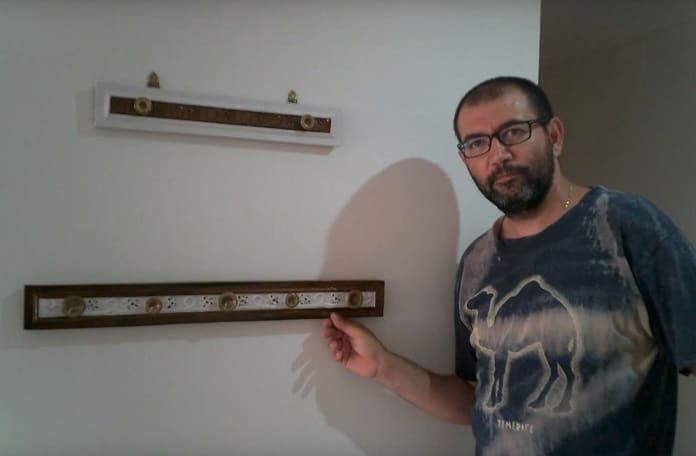 C mo hacer percheros de pared originales 2019 - Percheros de pared originales ...