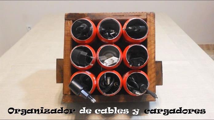 Hacer Un Organizador De Cables