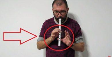 hacer una flauta de PVC