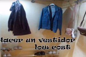 HAcer un vestidor barato casero