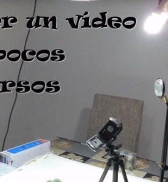 Hacer vídeos baratos