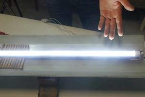 cambiar tubo fluorescente redondo por led