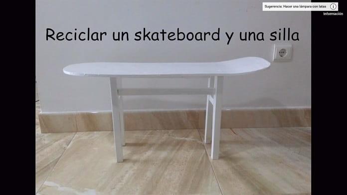 Reciclar Un Skate.