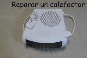 arreglar una calefactor de aire.