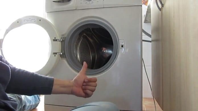 cambiar goma de lavadoras.