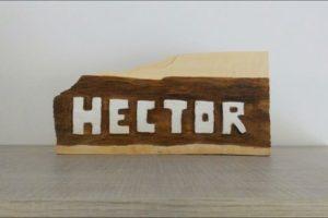 tallar en madera con una dremel.