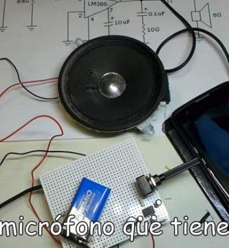 Hacer un amplificador de sonido casero.