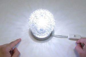interruptor de una lámpara.