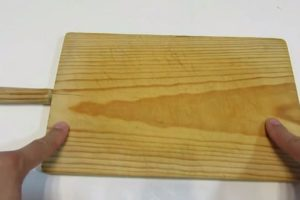reparar utensilios de madera.