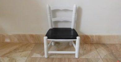 restaurar una silla de madera.