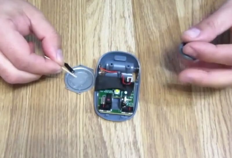 como reparar un mouse del pc.